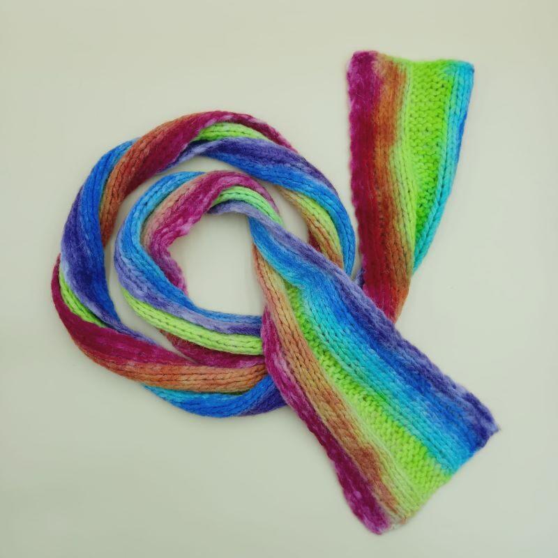 bufanda de lana calentita
